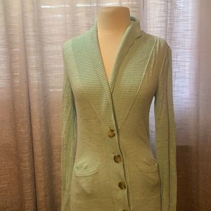3/$25 Mossimo mint green cardigan with pockets